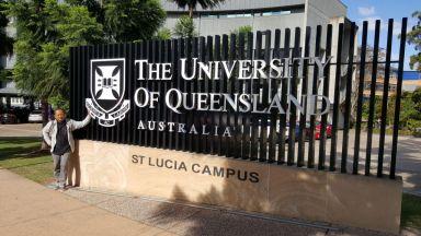 Queensland University @front