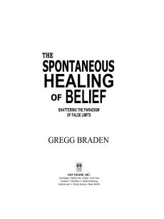 healing penyembuhan mengubah belief